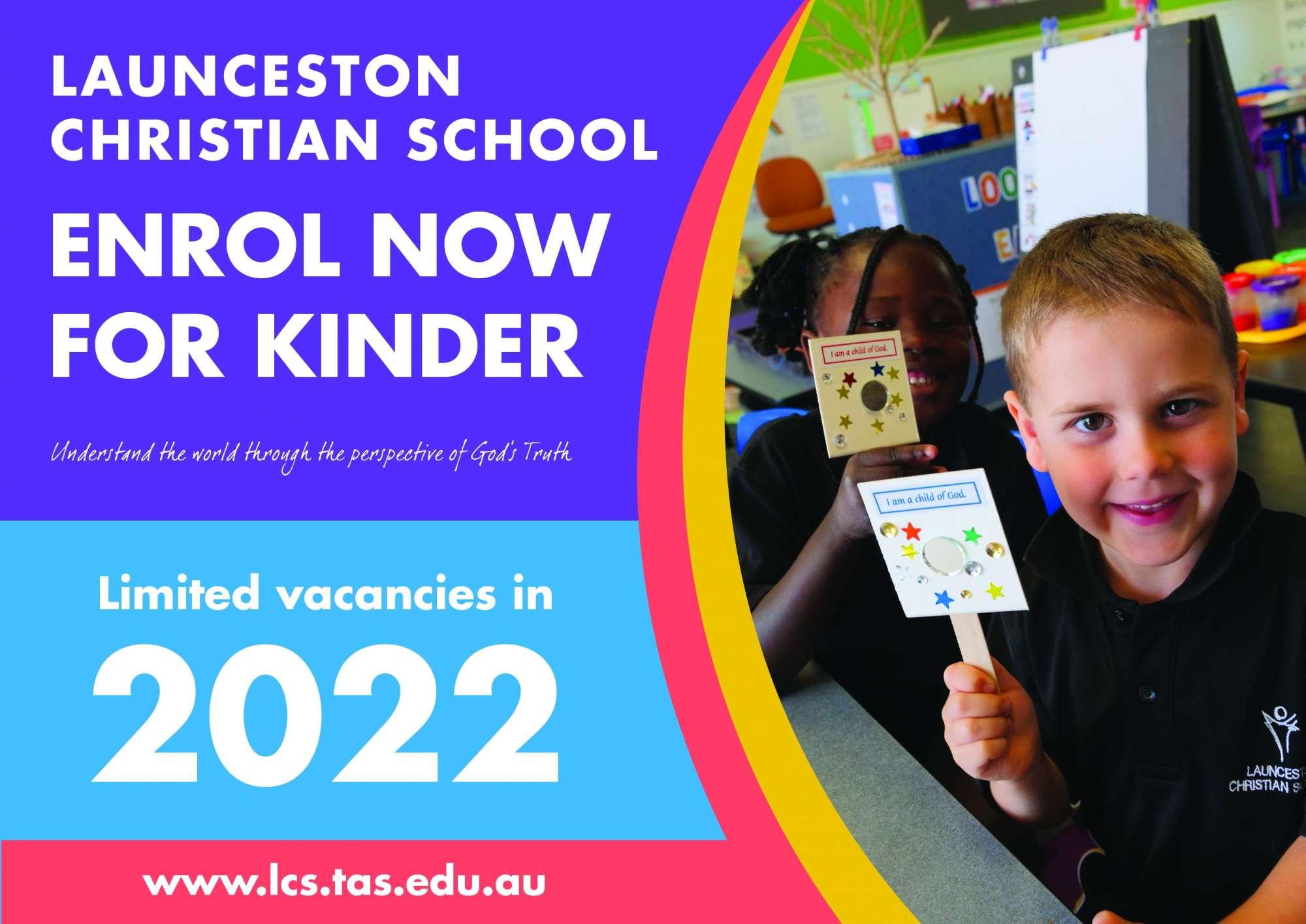Enrol for Kinder 2022